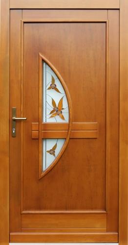Drzwi Drewniane Zewnetrzne 16