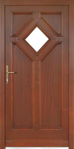 Drzwi Drewniane Zewnetrzne 6