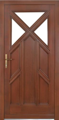 Drzwi Drewniane Zewnetrzne 8